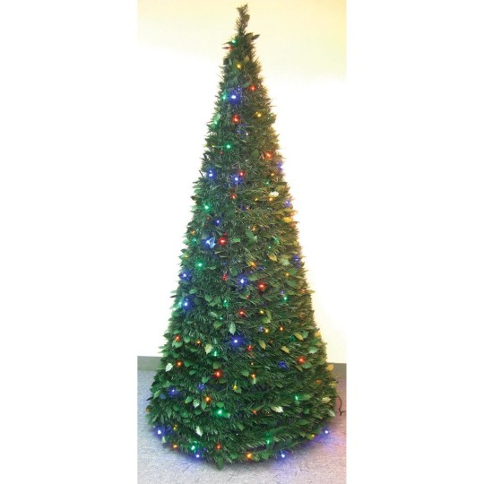 Buy pull up christmas tree w led lights 6 39 at s s worldwide for Christmas tree items list