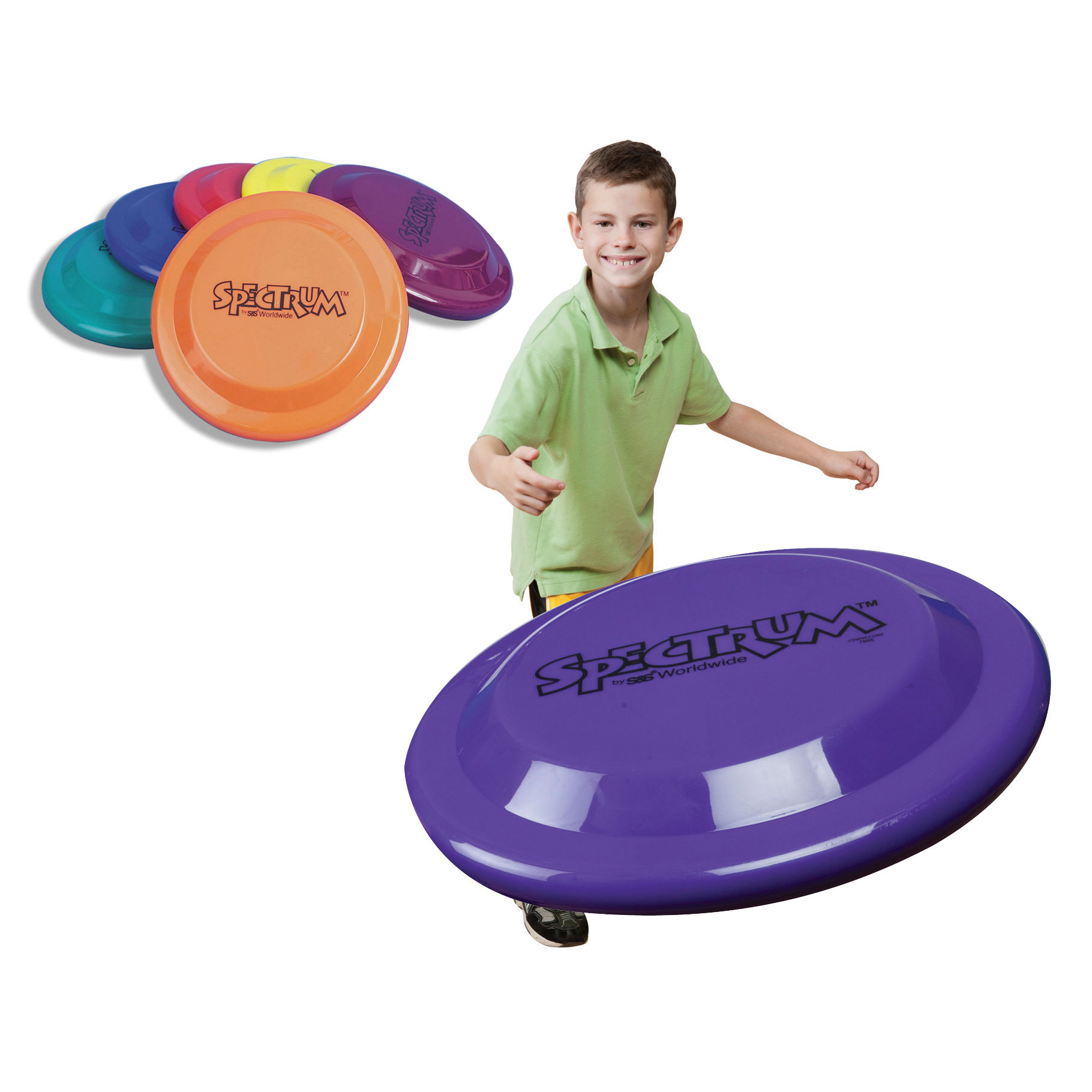 Classic Flying Discs  (set of 6)