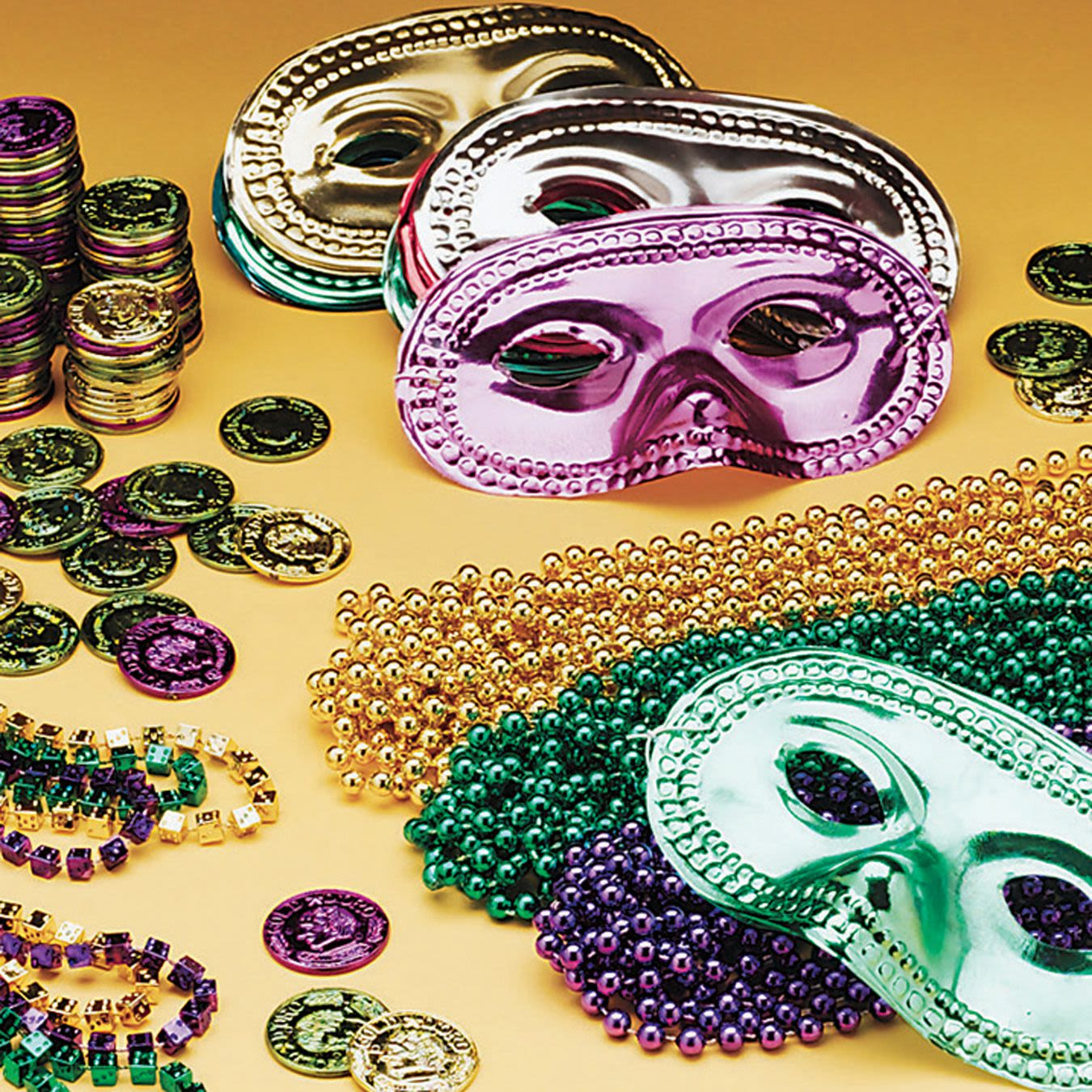 Mardi Gras Easy Pack for 24