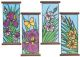 S&S Worldwide - Brite Lite Paper Floral Fields Craft Kit  (makes 24) Photo