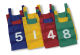 S&S Worldwide - Nylon Numbered Pinnies  (dozen)-YELLOW Photo