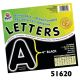 "S&S Worldwide - Self-Adhesive 4"" Letters (pack of 78)-GREEN Photo"