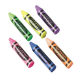 S&S Worldwide - Crayon Shape Erasers (pack of 36) Photo