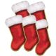 S&S Worldwide - Stocking Cutouts  (pack of 10) Photo