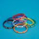 S&S Worldwide - Spirit Silicone Bracelets (pack of 24)-RED Photo
