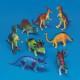 "S&S Worldwide - Plastic Dinosaurs 7"" (set of 8) Photo"