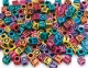 S&S Worldwide - Vertical Hole Alpha Beads (bag of 160) Photo