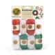 S&S Worldwide - Bonbons® Mini Acrylic Yarn Pack - Jingle Bells Themed (pack of 8) Photo
