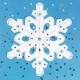 Snowflake Craft Kit (makes 12)