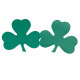 "S&S Worldwide - 9"" St. Patrick's Day Shamrock Cutouts  (pack of 48) Photo"