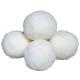 S&S Worldwide - White Fleece Balls-4 INCH Photo