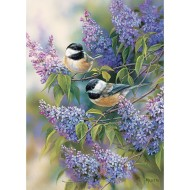 Chickadee Duo 35-Piece Tray Puzzle