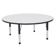 Round Dry Erase Activity Table, 60