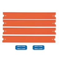 Hot Wheels® Straight Track, 4'