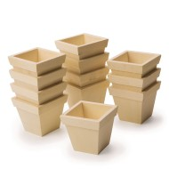 Preassembled Wood Planters