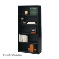 5-Shelf Value Mate Metal Bookcase