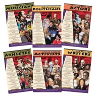African American Leaders Poster Set