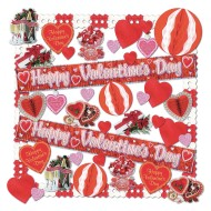 Flame Resistant Valentines Decorating Kit