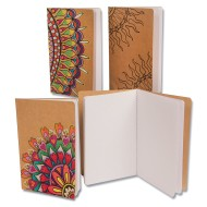 Kraft Journals To Color