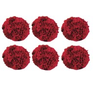 "Spectrum™ 4"" Fleece Balls, Red"