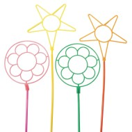 Giant Neon Bubble Wands