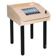 Single Station Technology Table with Adjustable Legs