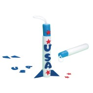 Finger Rockets Craft Kit