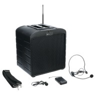 AmpliVox® AirVox Mobile PA System with Microphone & Headset