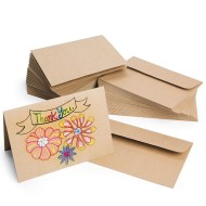 Kraft Paper Cards and Envelopes