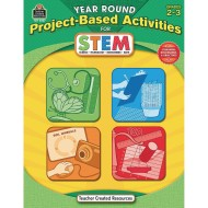 Year Round Project Based Activities for STEM Grades 2-3 Book