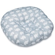 Boppy® Newborn Lounger, Elephant Love Gray Design