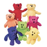 Plush Beanbag Teddy Bears