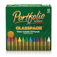 Portfolio® Series Water-Soluble Oil Pastels Classpack