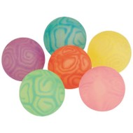 Swirl Panel High Bounce Balls (Pack of 12)