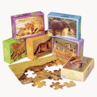 Wild Animal Mini Puzzle Assortment