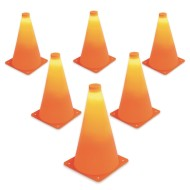 LED Light Up Cones (Set of 6)