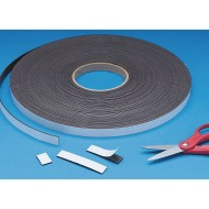 100' Roll Magnetic Strip with Adhesive