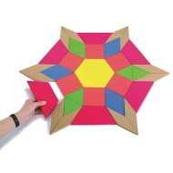 Giant Foam Pattern Blocks
