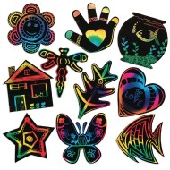 Scratch-Art® Creative Shapes