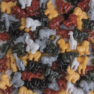 Safari Bead Mix 1/2-lb Bag
