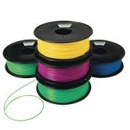 PLA Filament for 3D Printing, 5 Pack of Brights