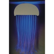 Superactive LED Fiber Optic Jellyfish
