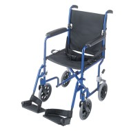 HealthSmart Ultra Lightweight Transport Chair