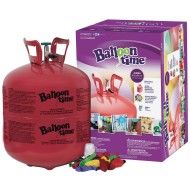 Jumbo Balloon Time Helium Kit with Balloons
