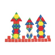 Solid Plastic Pattern Blocks