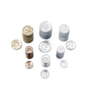 Plastic Coin Assortment