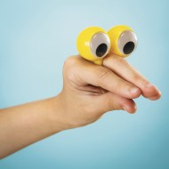 Finger Puppet Eyes