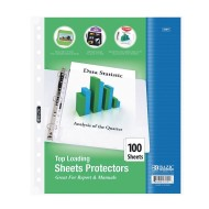 Top Loading Sheet Protectors (Pack of 100)
