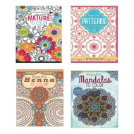 Adult Coloring Books Easy Pack