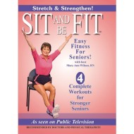 Sit and Be Fit Stretch and Strength 2-DVD Set